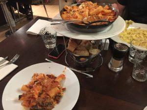 Diner à La voglia, Nice