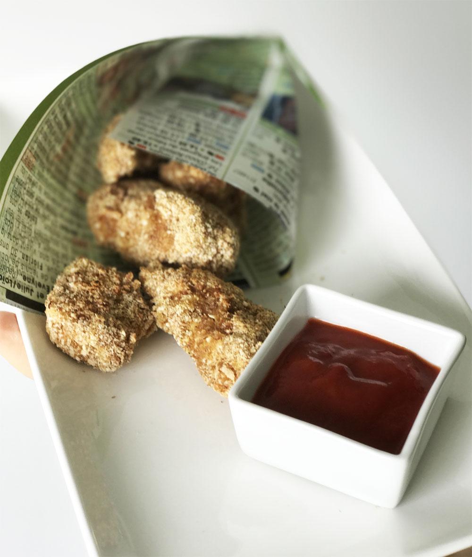 Nuggets De Poulet Maison Recette De Nuggets De Poulet: Recette Healthy De Nuggets De Poulet