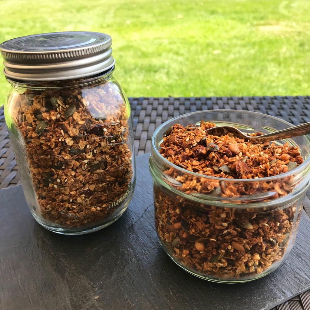 Granola graines et noisettes