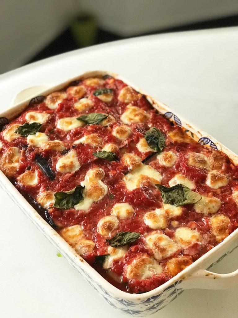 Parmigiana de légumes d'été