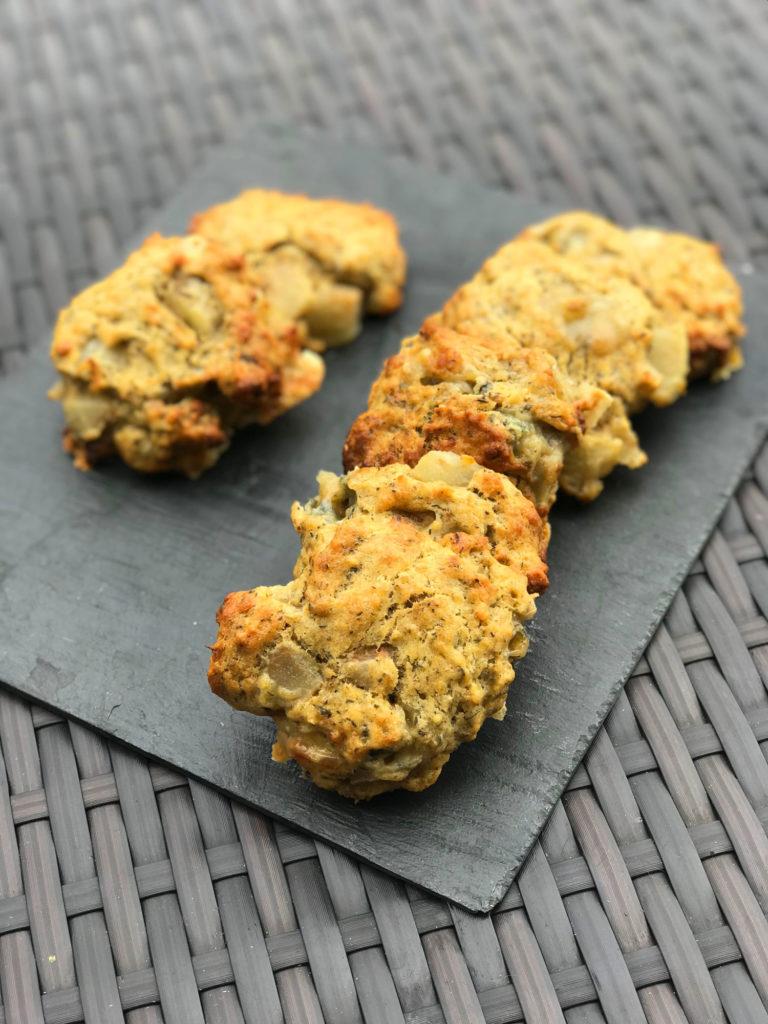 Cookies salés poires roquefort