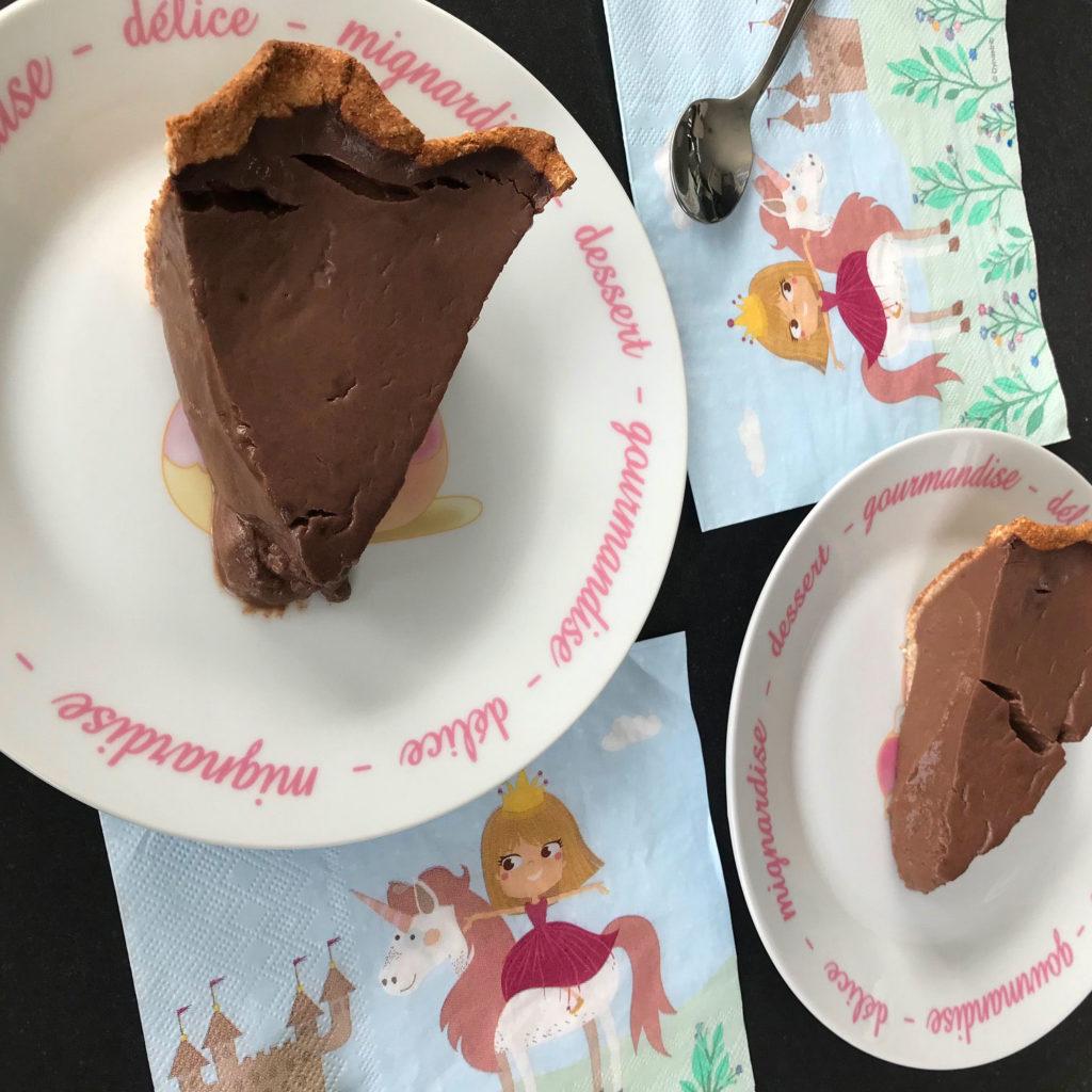 Flan chocolat healthy